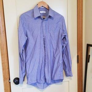 Calvin Klein Men's Dress Shirt 15 1/2, 34/35
